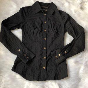 Guess | Black button down dress shirt